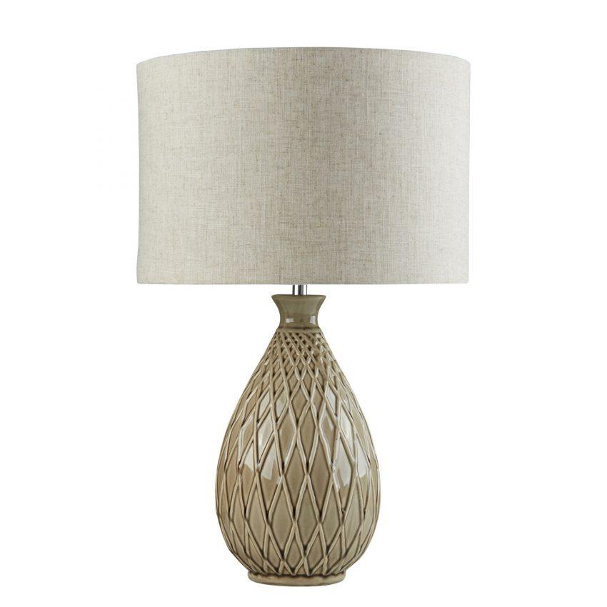 CADENCE TABLE LAMP - NEUTRAL CERAMIC BASE