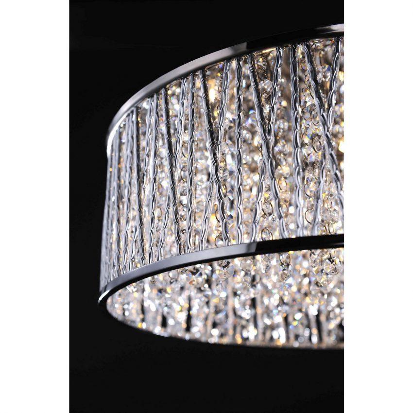 Lefes Series Decorative 7 Light Chrome Ceiling Light