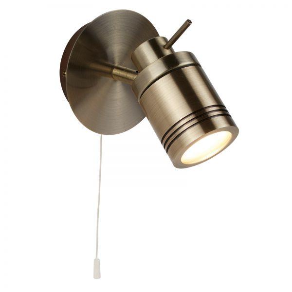 1 LIGHT IP44 BATHROOM SPOT WALL BRACKET