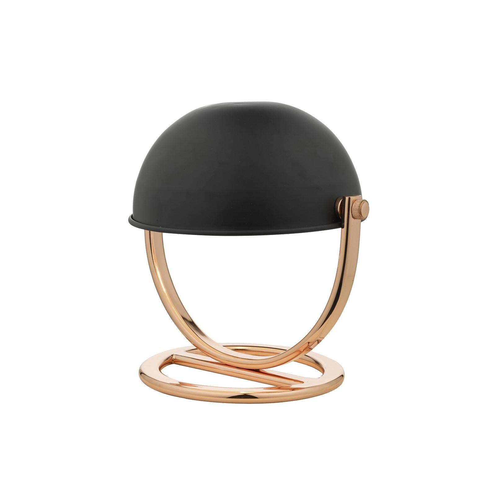 Ubeda Table Lamp Copper Black