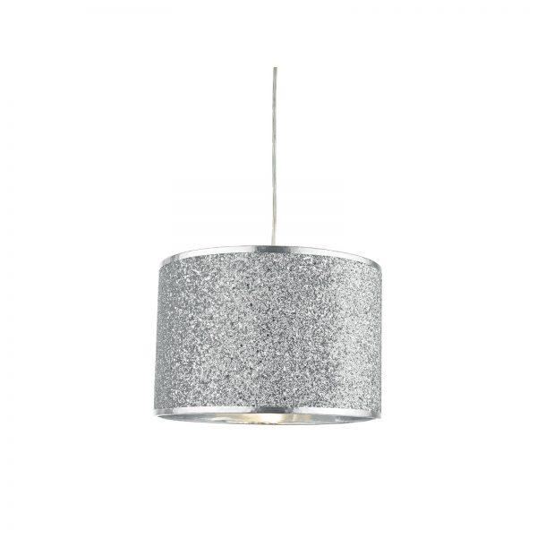 Glitter silver shade